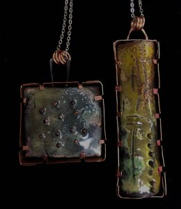 Shadow Boxes with Torch Fire Enameling (One Day Workshop)