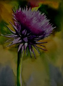 Painting the Thistle (One Day Workshop)