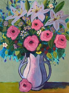 Bold Expressive Floral/Still Life Painting (Three Day Workshop)